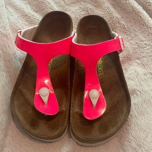 Birkenstock Gizeh Neon Pink